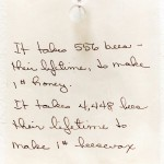 Beekeeper's Note