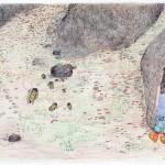 Shuvinai Ashoona (1961-), Cape Dorset