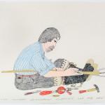 Kananginak Pootoogook (1935-2010), Cape Dorset