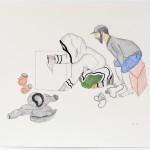 Napatchie Pootoogook (1938-2002), Cape Dorset