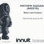 Mathew Aqigaaq (1940-), Baker Lake