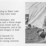 Myra Kukiiyaut (1929-2006), Baker Lake